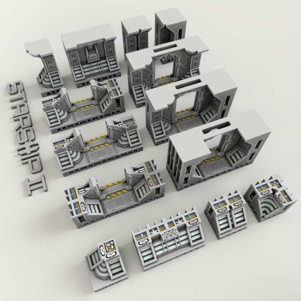 Starship OpenLOCK Tiles – 2nd Dynasty AB